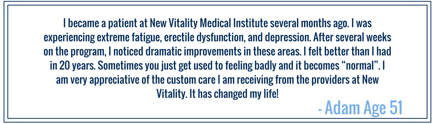 Men's Program New Vitality Medical Customer Review