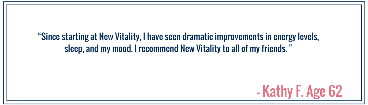 New Vitality Medical Customer Review